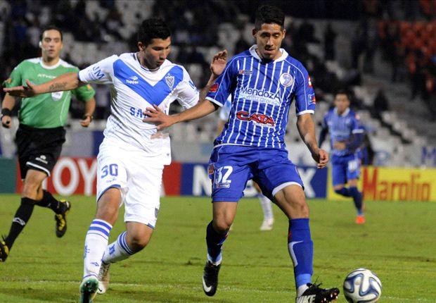 Godoy Cruz no pudo llegar a la punta por el empate 1 a 1 con Vélez