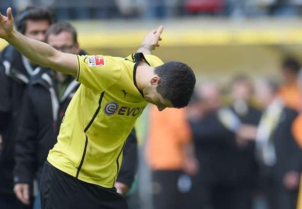 Borussia Dortmund striker Robert Lewandowski