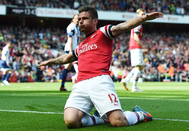 Arsenal 1-0 West Brom: Giroud header enough for Gunners