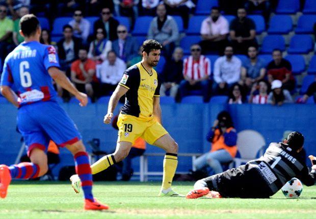 Levante 2-0 Atlético de Madrid: Real Madrid y Barcelona sueñan por Keylor Navas