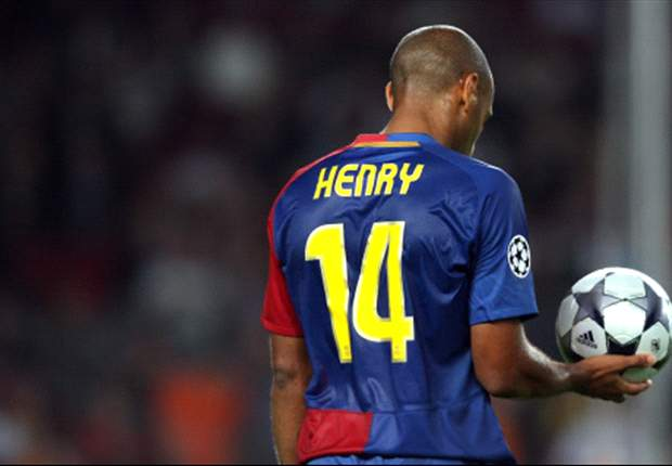 Thierry Henry Aiming To Be Back To His Best For Barcelona