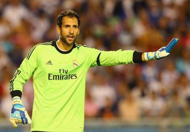 Real Madrid goalkeeper Diego Lopez