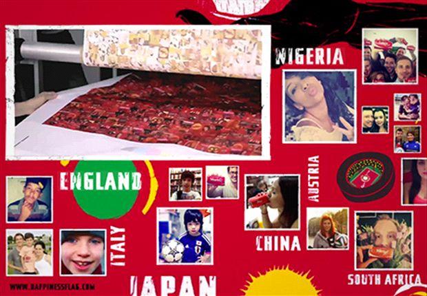 """Ikuti Pesta Di Brasil! Pasang Foto Selfie Anda & Jadi Bagian """"Happiness Flag"""" Di Piala Dunia 2014 FIFA!"""