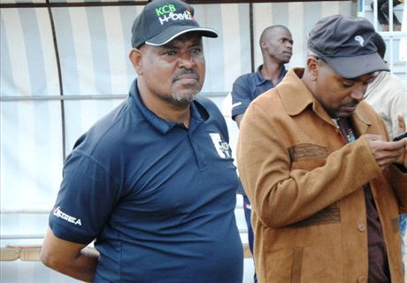 KCB coach Shedu out for two weeks