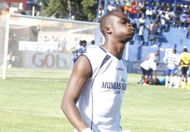 AFC Leopards' goalkeeper Wycillife Kasaya.
