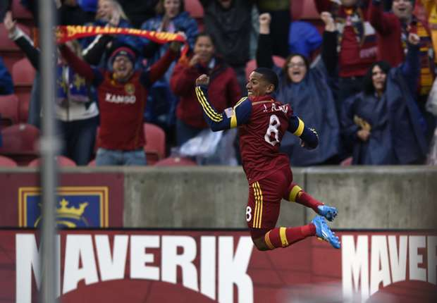 Joao Plata, Real Salt Lake; Major League Soccer 04262014