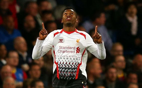 Daniel Sturridge Crystal Palace Liverpool English Premier League 05052014