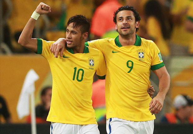 Neymar, Dani Alves y los 23 brasileños para el Mundial
