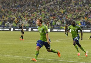 Chad Marshall, Seattle Sounders, MLS, 04032014