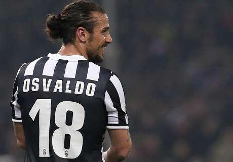 Punta Juventus, Osvaldo più di Matri