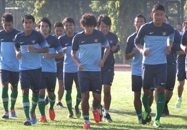 Timnas U-23 menang telak 6-0 atas Pra PON Sulsel.