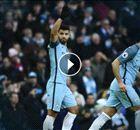 PREMIER: El gol 150 de Agüero con Manchester City