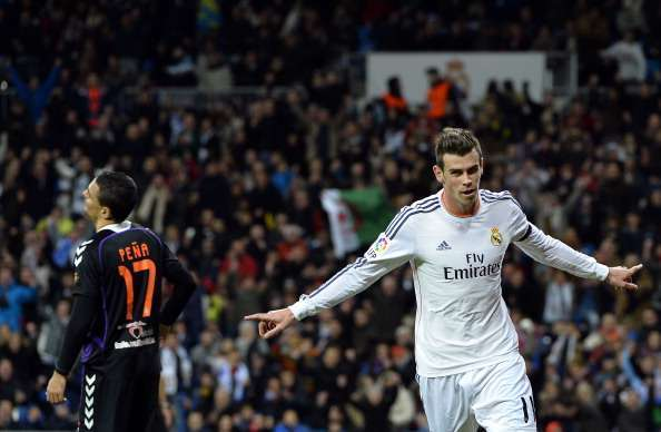 Bale - Valladolid vs Real Madrid