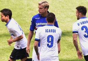 Maxi Lopez e Icardi: niente stretta di mano lo scorso anno a Marassi