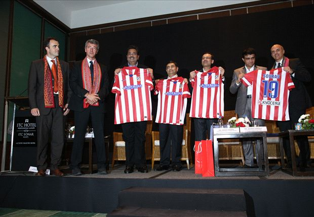 Indian Super League's Kolkata franchise launched as 'Atletico de Kolkata'