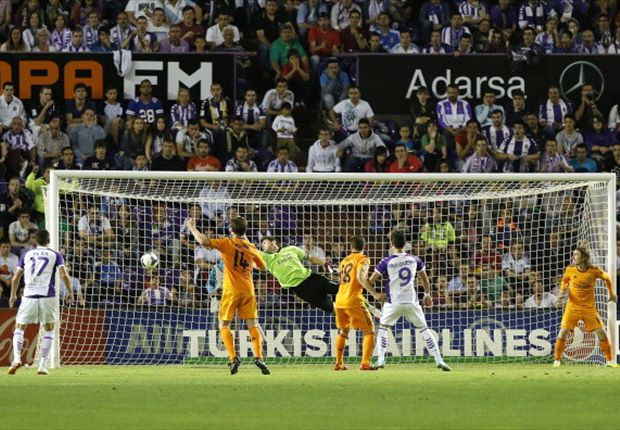 Valladolid 1-1 Real Madrid: Last-gasp Osorio leaves Blancos title hopes in tatters