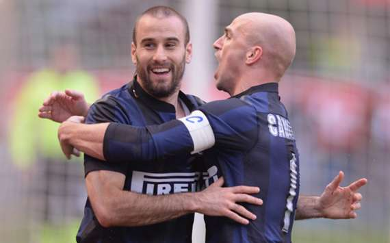 Inter striker Rodrigo Palacio