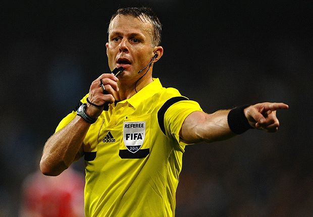 The man who missed Luis Suarez's bite: Meet Champions League final referee Bjorn Kuipers