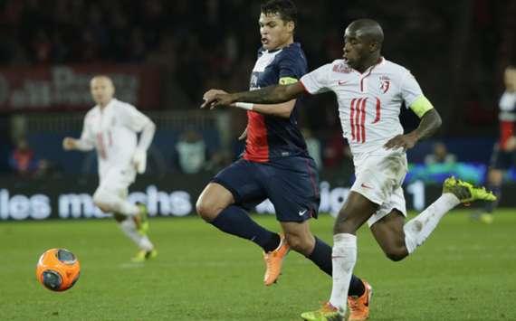 PSG defender Thiago Silva
