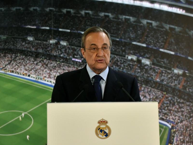 """Real Madrid, Pérez : """"Zidane est éternel et il restera avec nous toute la vie"""""""