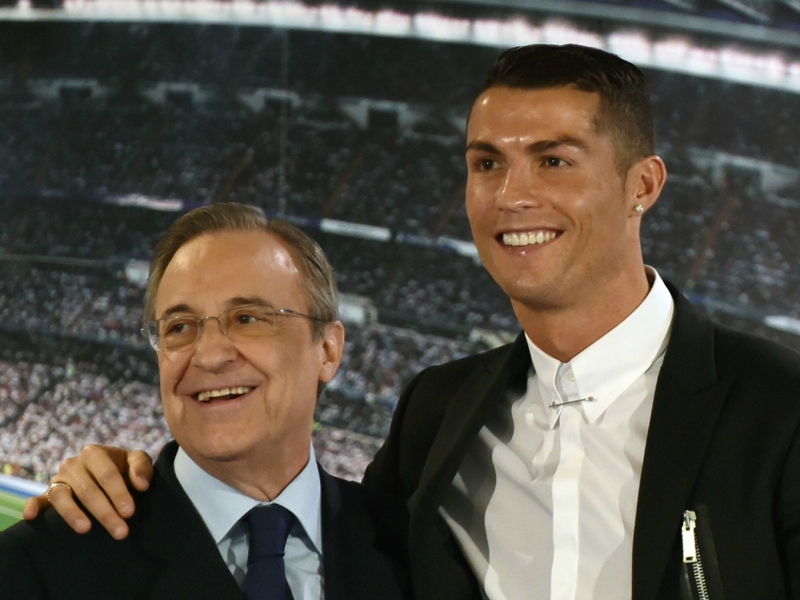 Real Madrid, Perez défend Cristiano Ronaldo et…le cadenasse