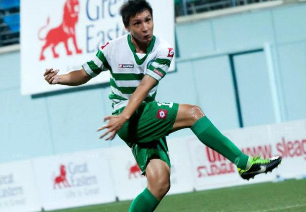 Watch stunning S.League goal from halfway line
