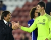 Courtois rejects Madrid talk