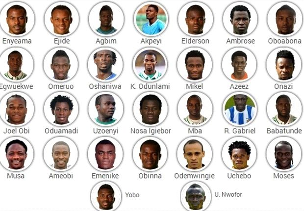 Nigeria Squad: Keshi vs. the Fans