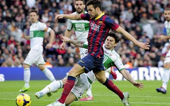 La Liga sides Barcelona and Elche