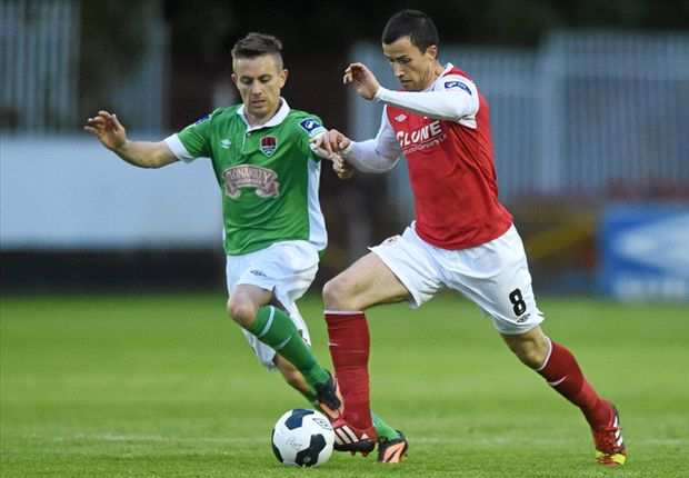 St Patrick's Athletic 3-2 Cork City: Saints go top with determined performance