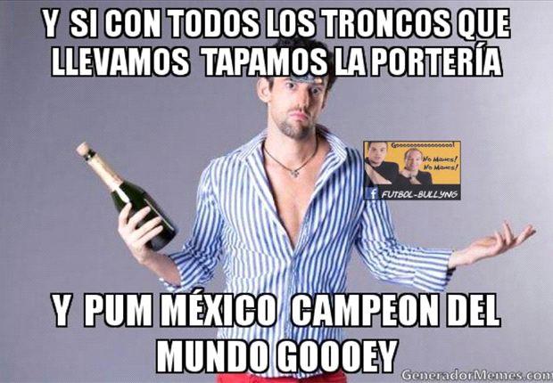 Los memes de la selección mexicana