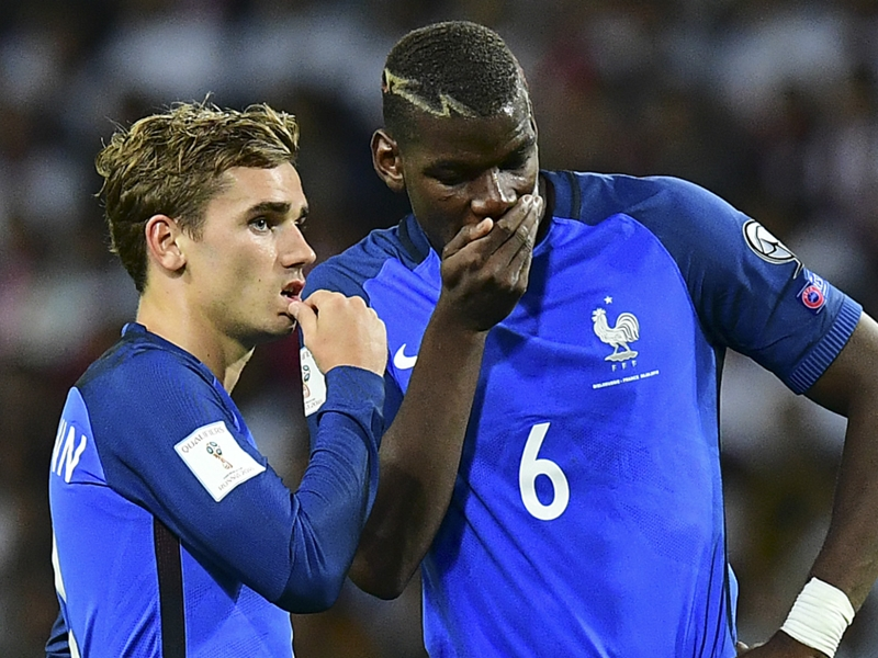 VIDEO: Touch of class! Pogba dazzles in France training