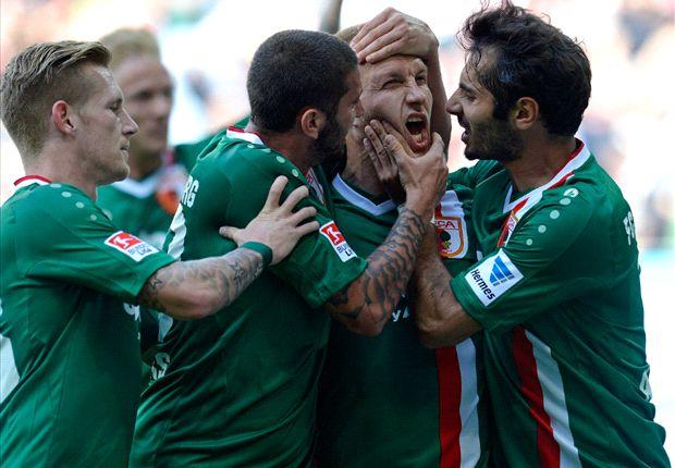 Ragnar Klavan erzielte seinen ersten Treffer für den FC Augsbrug