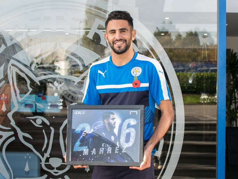 Riyad Mahrez named world's best midfielder of 2016