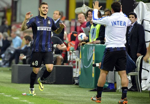Icardi 'honoured' to play with Zanetti at Inter