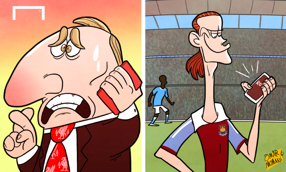 Premier League Cartoons The Premier League Title