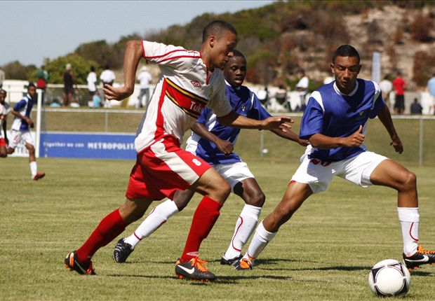 Dane Fortuin on the far right hoping to get a team locally