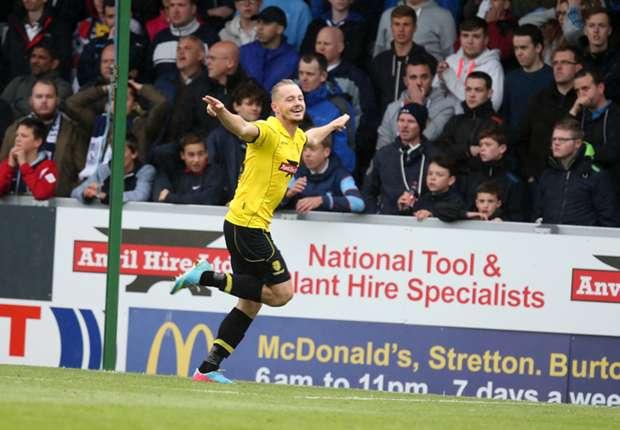 Burton Albion 1-0 Southend United: McGurk gives hosts narrow first leg advantage