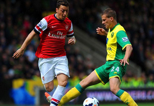 Laporan Pertandingan: Norwich City 0-2 Arsenal