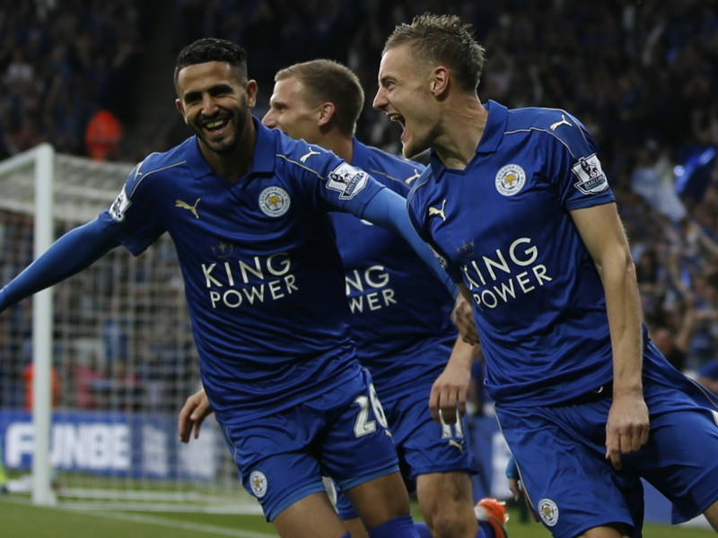 Watch Vardy & Mahrez tease Leicester team-mates as they play The Emoji Game