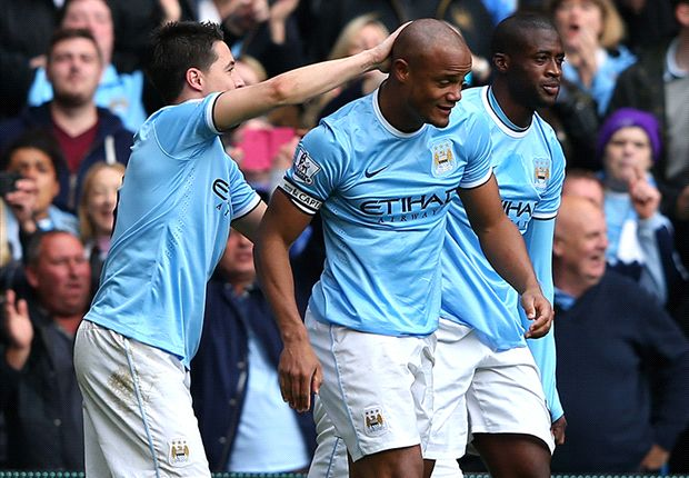 Laporan Pertandingan: Manchester City 2-0 West Ham United