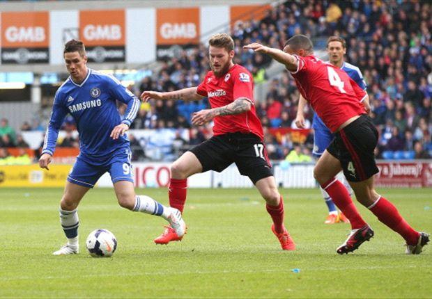 Cardiff City 1-2 Chelsea: Remontada 'blue' para terminar la temporada