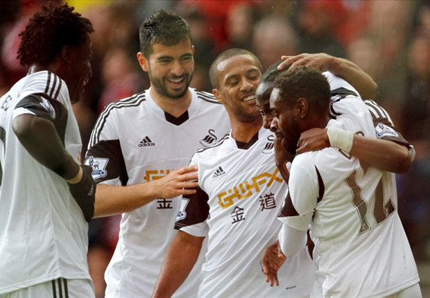 Sunderland 1-3 Swansea: Swans rain on Black Cats' survival party