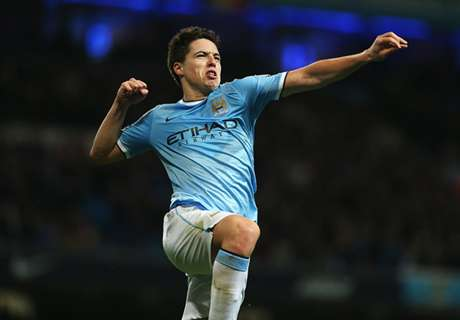 Man City handed Nasri fitness boost