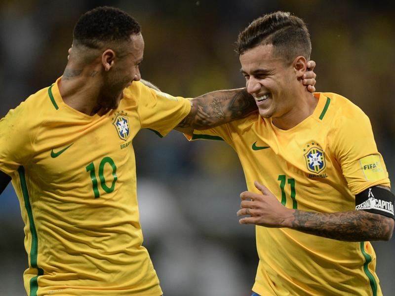 Neymar, Coutinho, Lucas Moura and Brazil's last U20 South American champions