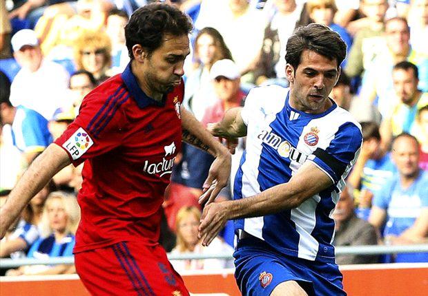 Espanyol 1-1 Osasuna: Punto para subsistir un año más