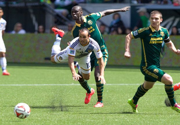 Portland Timbers 1-1 LA Galaxy: Late goals see Western rivals share points