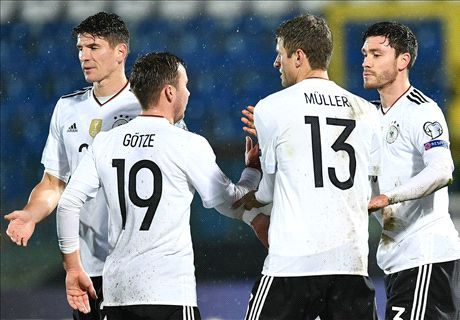Germany demolish minnows San Marino