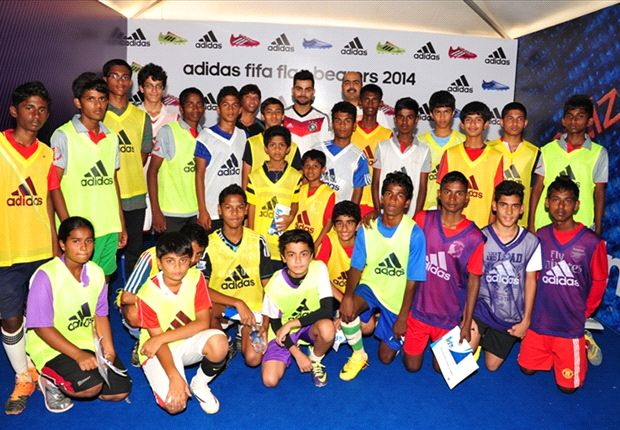 Adidas FIFA Flag bearers program winds up in Bangalore