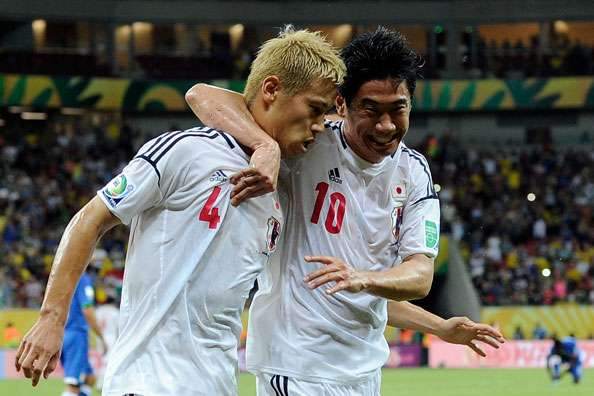 Japan can win the World Cup, insists Honda